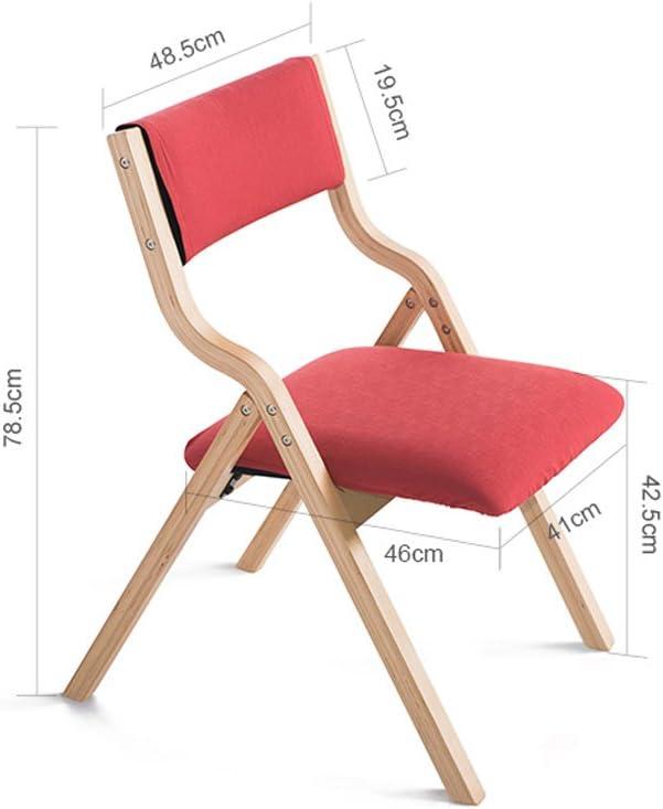 XXT-Chaise de Salle à Manger en Bois Massif Chaise de Maison Minimaliste Moderne Durable (Color : D) D