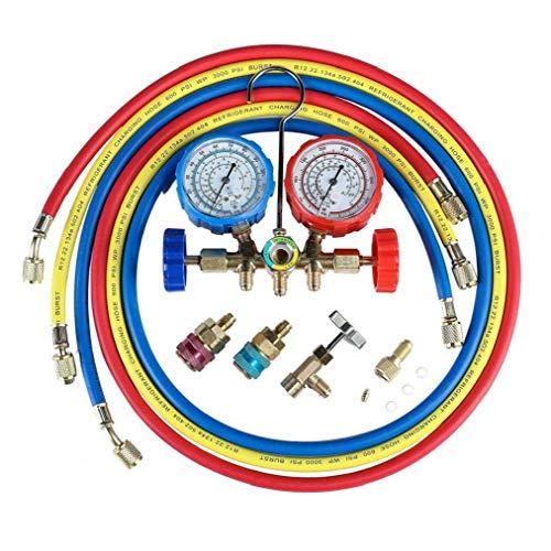 Romote Klimaanlage Kältemittel Diagnoseanzeige Ac Diagnose Manifold Endmaßsatzes Manifold Diagnose Fluorine Manifold Tabelle Anzeiger-prüfvorrichtung