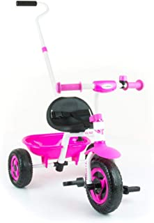 Milly Mally Turbo Secure Trike with Stable Metal Frame (Pink)