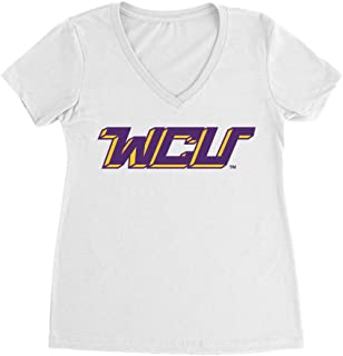 Official NCAA West Chester University Golden Rams - PPWCU07 Premium Womens Ideal V Neck