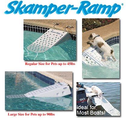 Skamper Ramp kurz - sicher und stressfrei aus dem Wasser - 64 x 33 x 16 cm