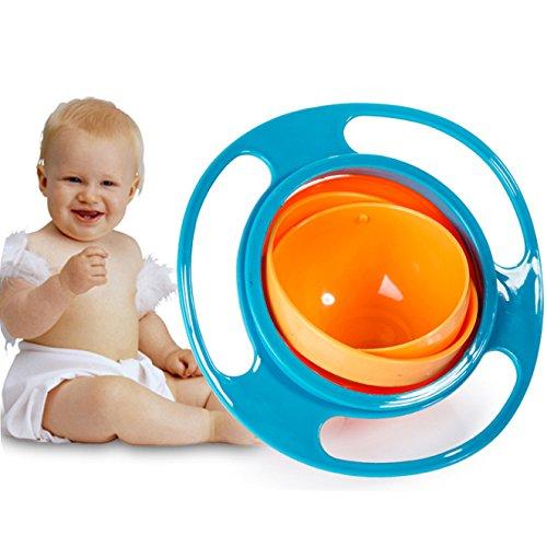 Itian 360 Rotierenden Anti-verschütten Schwerkraft Futterschalen Konzipiert für Kinder, geformt wie eine fliegende Untertasse