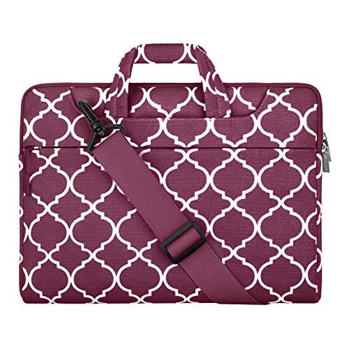 College Students Business People Offi Laptop Bag Elephant Portrait On White 15-15.4 Inch Laptop Case Briefcase Messenger Shoulder Bag for Men Women