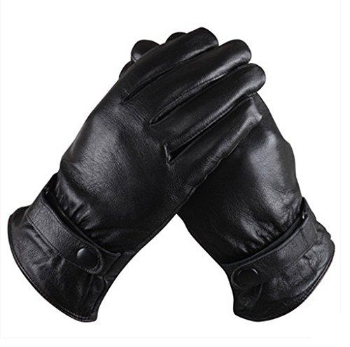 Gloves-zx Guanti Invernali Uomini Guanti Invernali Tenere Ispessimento Caldo e Guanti Velve Guanti Invernali Maschio (Colore : A, Dimensioni : XXL)