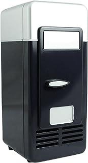 MagiDeal Mini USB Refrigerator Fridge Cooler Freezer Cooling Heating Function - Black, 19.4×9×9cm