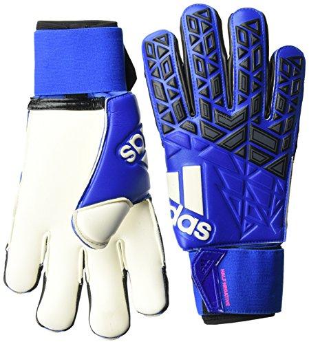 adidas Herren ACE Half Negative Torwarthandschuhe, Blue/Core Black/White/Shock Pink S16, 9.5