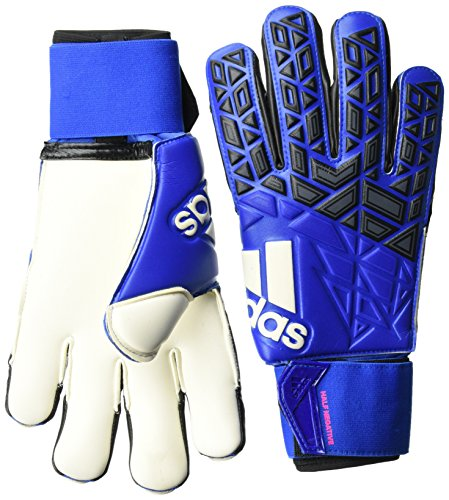 adidas Herren ACE Half Negative Torwarthandschuhe, Blue/Core Black/White/Shock Pink S16, 8.5