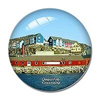 グリーンランドデンマークQaqortoq冷蔵庫マグネットホワイトボードマグネットオフィスキッチンデコレーション