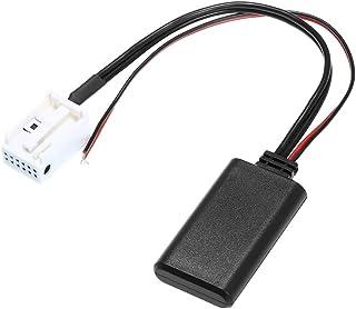 KKmoon AUX Kabel Audio Kabel Adapter 12Pin für Peugeot 207 307 407 308 Citroen C3 C2 RD4 BT Stereo Funk
