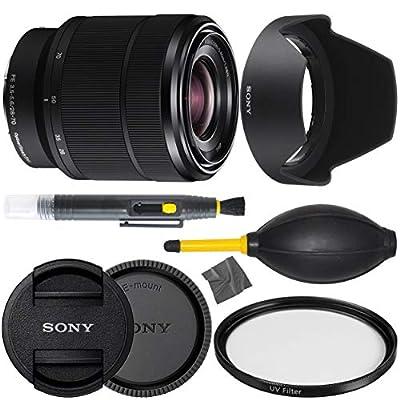 Sony FE 28-70mm f/3.5-5.6 OSS Mirrorless Camera Zoom Lens (SEL2870) + AOM Pro Bundle - International Version (1 Year AOM Wty) by 130