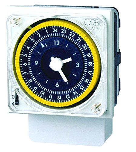 Orbis Alpha D 230 V Interruptor horario analógico Universal