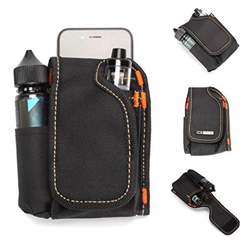 Yeleo Trosetry E Zigarette Tasche, Elektronische Zigarette Vape Reise Tragetasche Mini Vape Tragetasche für Flüssigkeiten, Werkzeuge RDA RTA RBA Zerstäuber Mods