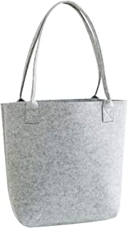 COAFIT Women's Tote Large Felt Tote Handbag Phone Storage Shoulder Bag