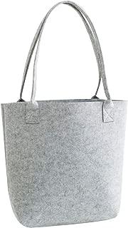 COAFIT Women's Tote Large Felt Tote Handbag Phone Storage Shoulder Bag