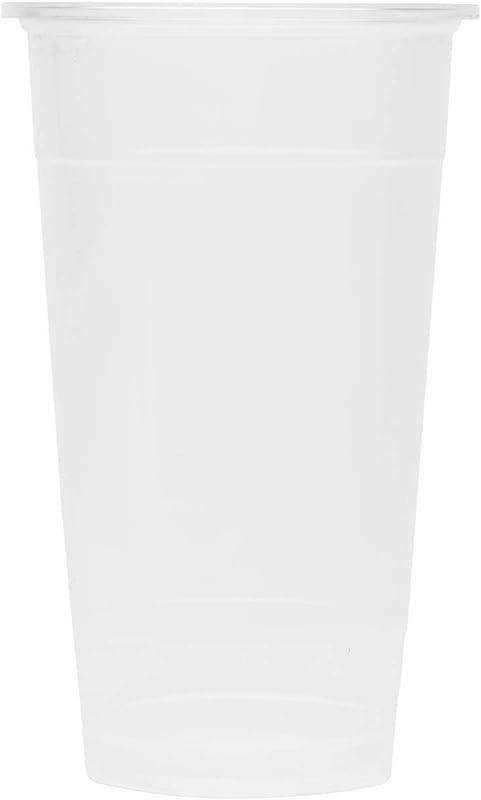 Karat C1012 K 24 Oz 700 Cc Translucent PP U Rim Cups Case Of 1000