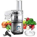 SHARDOR 2.1-Cup Food Processor Vegetable Chopper for...