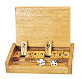 13.5 x 9 x 2.5 cm Made of wood and therefore more tactile. Great number game. Robust and great quality. Learn at play.