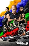 FAST & AND FURIOUS 9 THE FAST SAGA MOVIE POSTER 2 Sided ORIGINAL FINAL 27x40