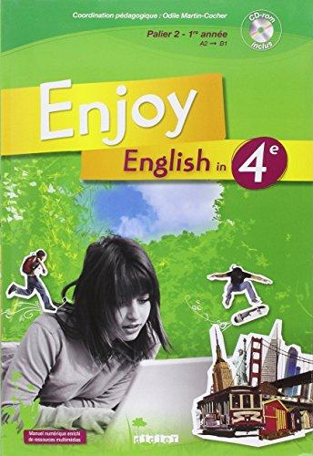 Enjoy English 4e Livre + CD audio-rom