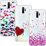 Young & Ming Case for Oppo A5 2020/OPPO A9 2020, [3 Pack]