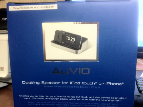 Fantastic Prices! Auvio Docking Speaker for Ipod Touch or Iphone