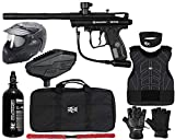 Action Village Kingman Spyder Victor Protector Paintball Gun Package Kit Protector 2 (Gloss Orange, Glove Size - Small/Medium)