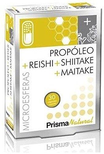 Prisma Natural Propóleo, Reishi, Shitake y Maitake - 30 Cápsulas