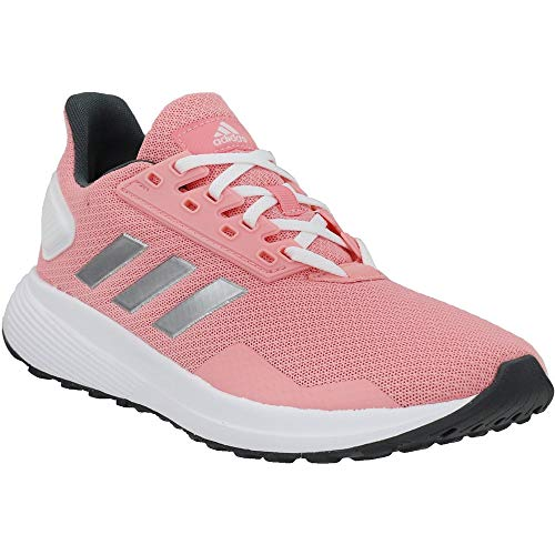 adidas Kids Girls Duramo 9 Running Sneakers Shoes - Pink - Size 5 M