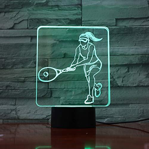 Tenis de Mujer Cambio de Color luz de Noche lámpara de Mesa Dormitorio lámpara de Dormir decoración del hogar decoración del Arte Regalo del niño