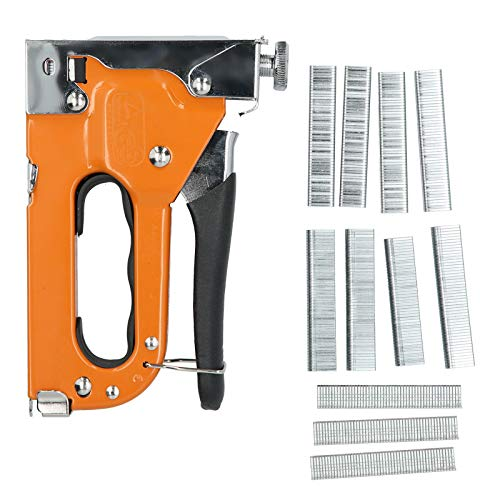 Multi‑Functional Manual Brad Nailer Stapler Hand Tools for Home Improvement Woodworking Remodel Project Garden Fence