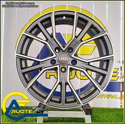 1 AF18 Llantas de Aleación NAD 8 18 5X112 40 66,5 Seat Leon Ateca Skoda Antracita Mate Diamante