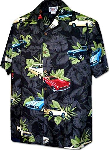 American Vintage Cars Men's Shirt 3882Black L