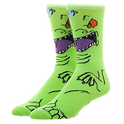 Rugrats Reptar Socks Cartoon Gift - Rugrats Socks Reotar Socks Cartoon Socks
