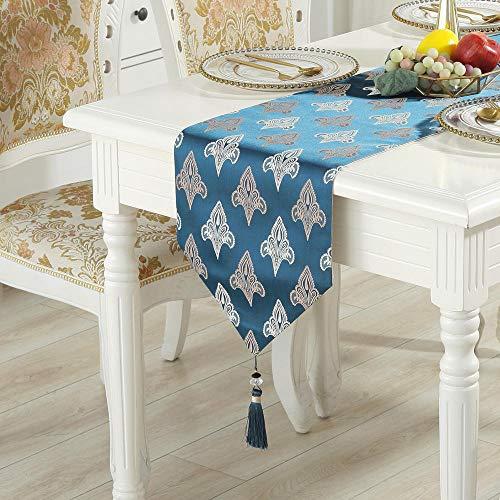Branfan Europese tafel lopers eenvoudige moderne Chinese tafelkleed TV kast decoratieve stof 33 * 250CM_A