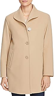 CINZIA Rocca Womens Outwear Coat, Sand, 6