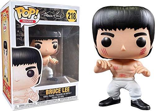 A-Generic Funko Bruce Lee Figura # 218 Pantalones Blancos Edicion Limitada Pop! Multicolor