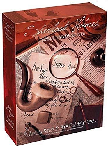 Sherlock Holmes : Jack L'Éventreur & Aventures À West End - Asmodee - Jeu de société - Jeu coopératif