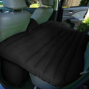 Back to 20s Heavy Duty Car Travel Inflatable Mattress Car Inflatable Bed SUV Back Seat Extended Mattress