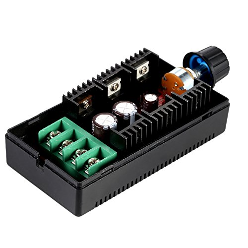 KKmoon Einstellbar 10-50V/40A/2000W DC Motor Speed Control PWM HHO RC Controller 12V 24V 36V 40V 50V Geschwindigkeit Einsteller¡