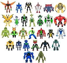 28Pcs/Set Cartoon Ben 10 Toys Ben Tennyson with Light PVC Ben10 Alien Action Figure Collectible Model Toys 10-14CM Wholesale