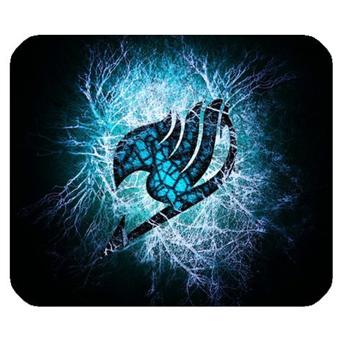 Fairy Tail Cartoon Personalized Custom Gaming Mousepad Rectangle Mouse Mat / Pad Office Accessory And Gift Design-LL1343
