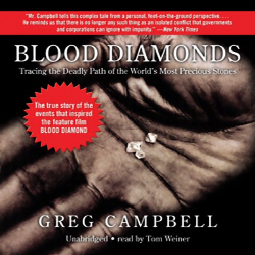 Blood Diamonds audiobook cover art