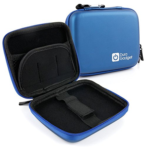 DURAGADGET Hardwearing Blue EVA Case with Soft Lining - Compatible with The WD My Passport Ultra 4TB WDBFKT0040BGD-WESN | My Passport Ultra 4TB WDBFKT0040BGY-WESN