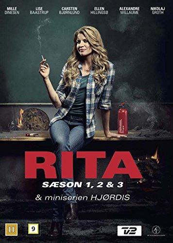 Rita (Series 1-3) / Hjørdis - 7-DVD Box Set ( Rita (Series One, Two & Three) / Hjordis ) [ Origine Danese, Nessuna Lingua Italiana ]