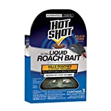 Hot Shot HG-96591 Ultra Liquid Roach Bait, Kills in Hours, 18-count