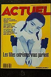 ACTUEL 1993 n° 36 FILLES EXTREMES - Alger Marseille Berlin - Iggy POP Bjork FFF Billy Idol