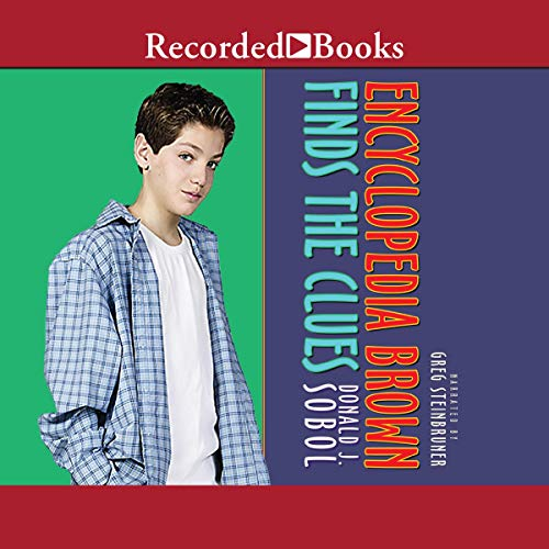 Encyclopedia Brown Finds the Clues cover art