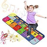 Dreamingbox Juguetes Bebes 1-3 Años, Piano Infantil Regalos Niño 1-8 Años Juguetes Niños 1 2 3 Años Regalos Niña 4 5 6 Años Juguetes Niña Juegos Educativos Niños Alfombra Musical de Piano Niños