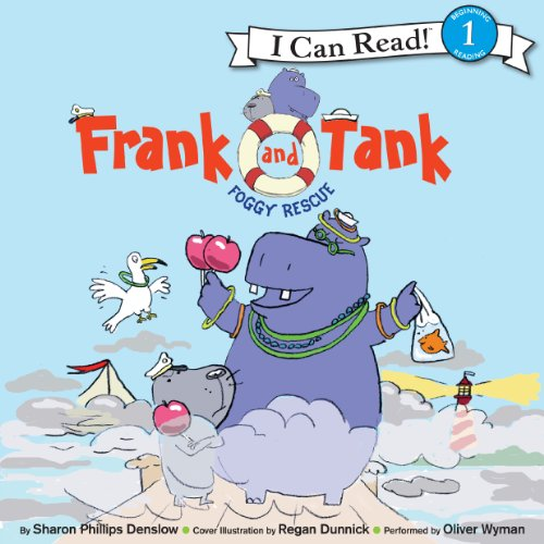 Frank and Tank: Foggy Rescue audiobook cover art