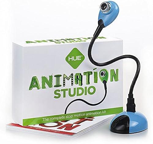 Hue Animation Studio für Windows-PCs & Mac (blau)  komplettes Stop-Motion-Animation-Kit mit Kamera